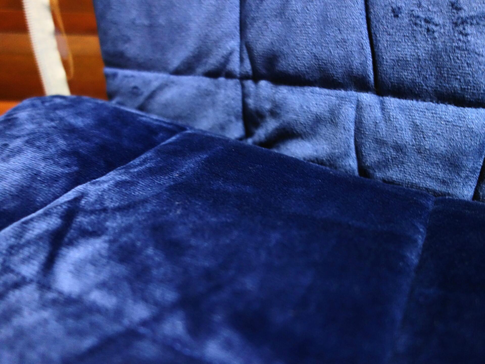 少し重い毛布の表生地