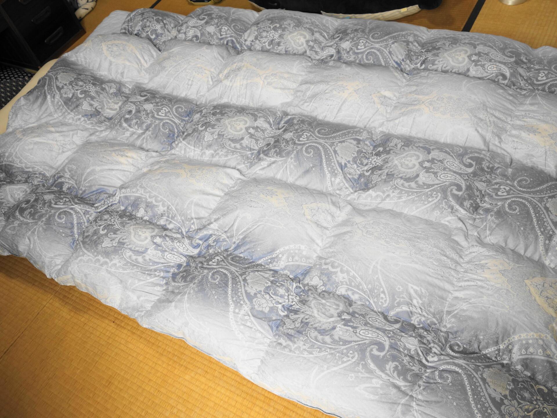 羽毛布団のサイズ